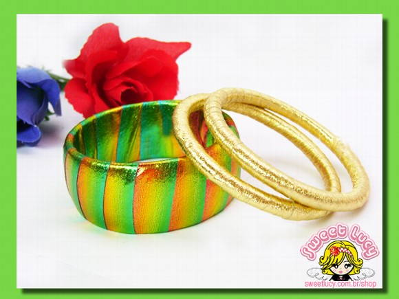 Pulseiras Full Color - Citrus