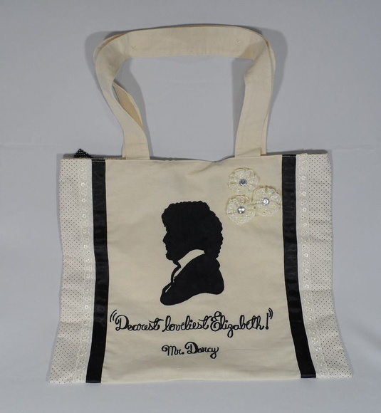 Jane Austen - Mr. Darcy Ecobag M1