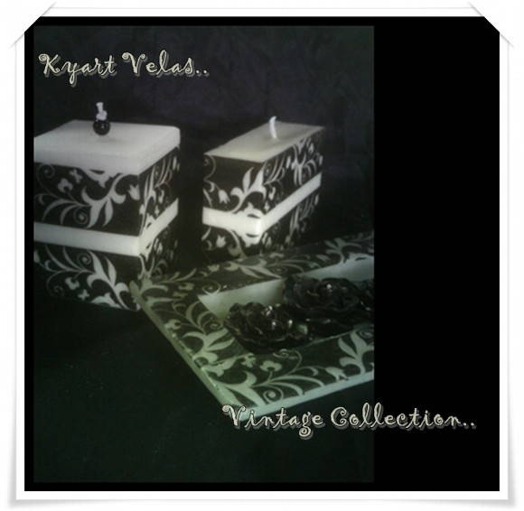Vintage Collection Kit Preto e Branco I
