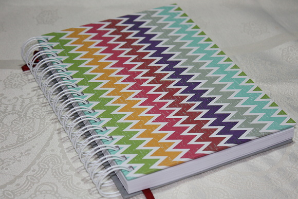 Caderno Colorful ZigZag