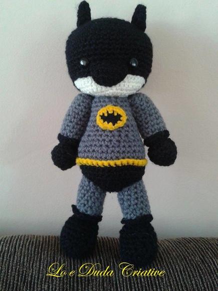 Batman Amigurumi Elo7