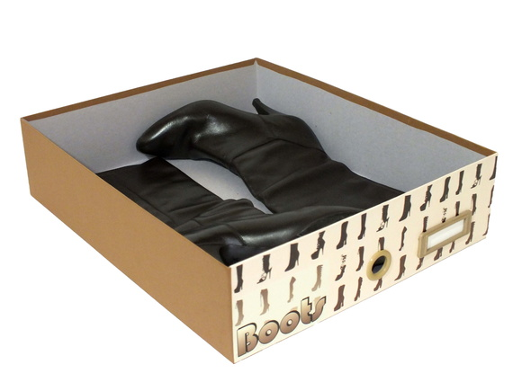 Caixa Especial Org - Brown Para Botas woman cod-240 no