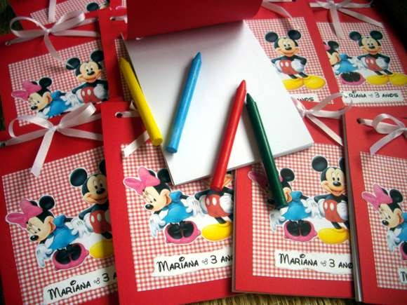 CADERNINHO SCRAPBOOK - MINNIE/MICKEY
