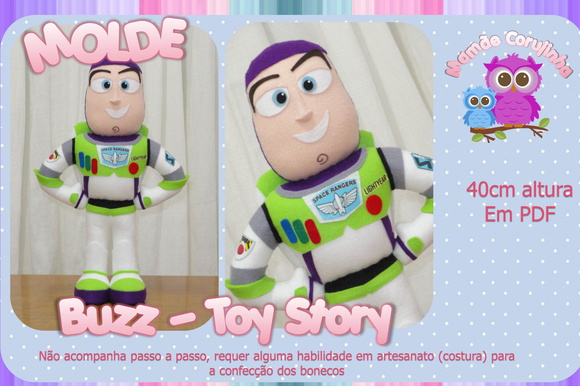 Molde do Buzz - Toy Story