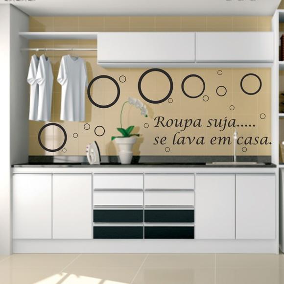 Como Conseguir Adesivo De Idoso ~ Adesivo Bolha+roupa suja se leva em casa no Elo7 Paredes decoradas com adesivos (5BB10D)