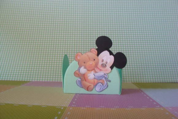 BABY MICKEY - forminha do mickey