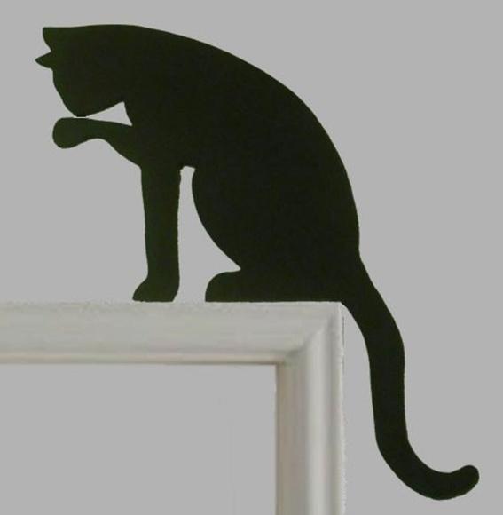 Armario Para Lavanderia Suspenso ~ Aparador de Porta em Madeira Gato Preto Elo7