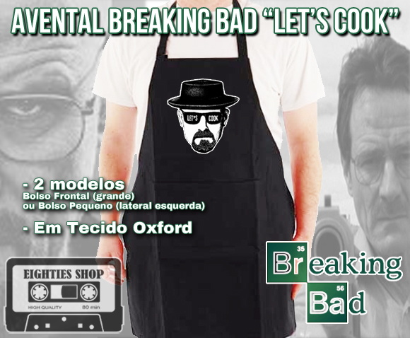 "Avental Breaking Bad ""Let's Cook"""