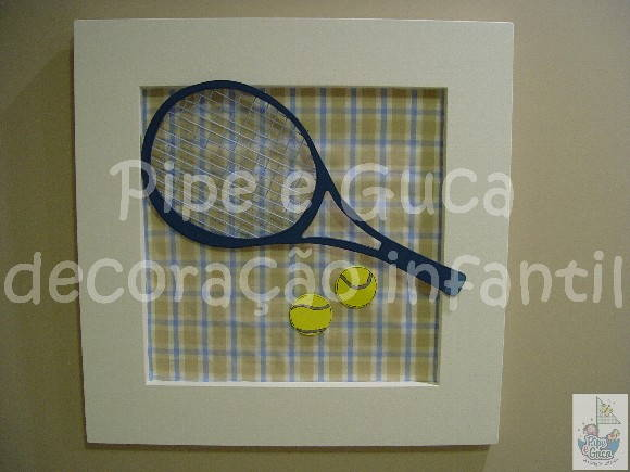 (DO 0035) Quadro decorativo tênis