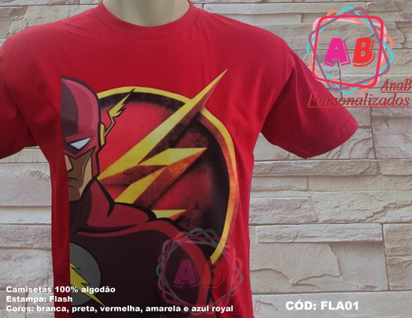 Camiseta Flash 1