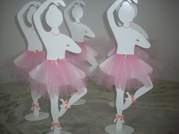 Bailarina | Colorê Decorações | Elo7
