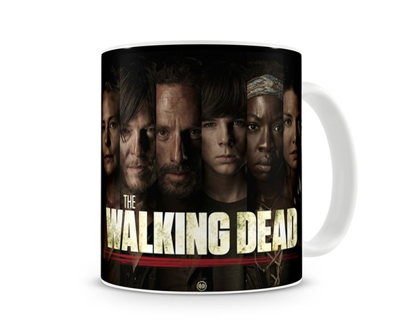Caneca The Walking Dead - Personagens