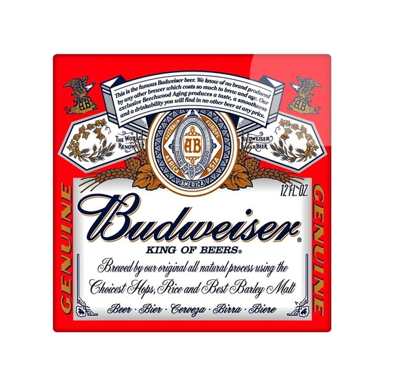 Azulejo cerveja budweiser 15x15 no elo7 a3 art design for Azulejo 15x15