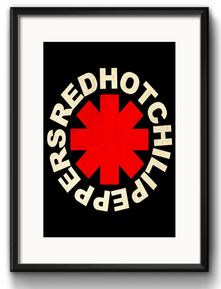 Quadro Red Hot Chilli Peppers Paspatur