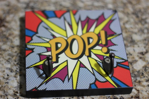 "Porta Chaves Criativo ""POP"""