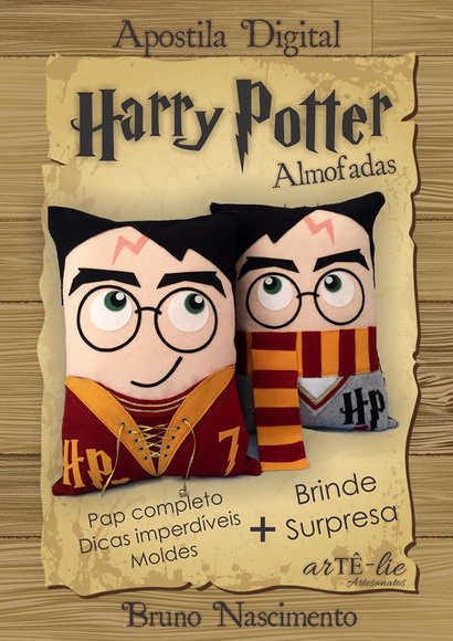 APOSTILA DIGITAL - HARRY POTTER ALMOFADA