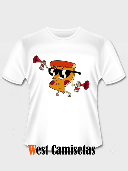 Camiseta Steve Pizza