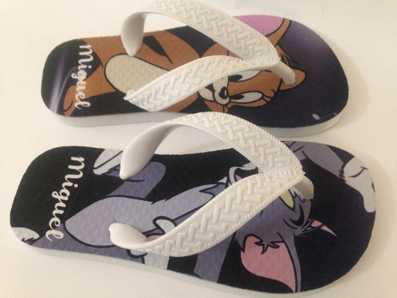 Chinelo Infantil Tom & Jerry
