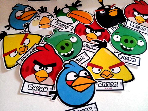 Display Angry Birds