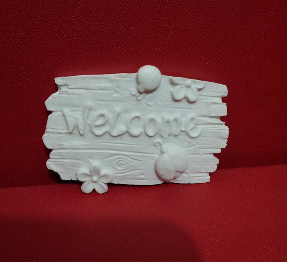 6034 - Placa Welcome