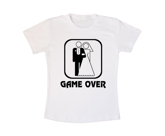 Camiseta Personalizada Game Over