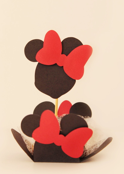 Forminha + Topper Minnie