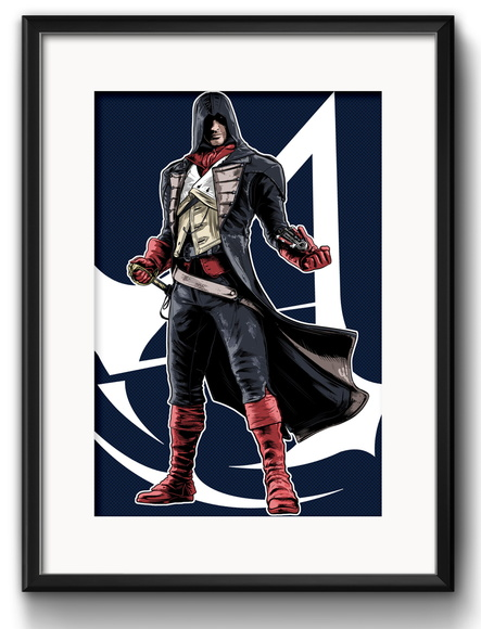 Quadro Assassin's Creed com Paspatur