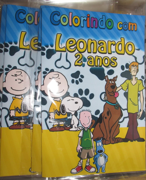 Revista snoopy scooby doug 14x10