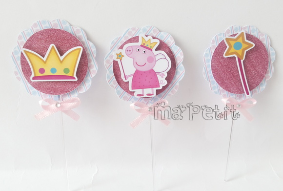 Topper Tag Peppa Pig