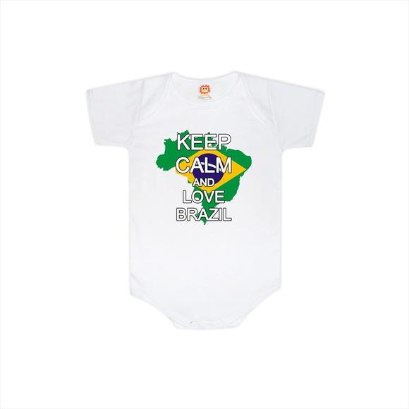 Body Ou Camiseta Love Brasil  458ee7d03a8ce