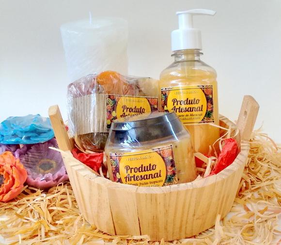 Kit banho frutas tropicais com maracujá