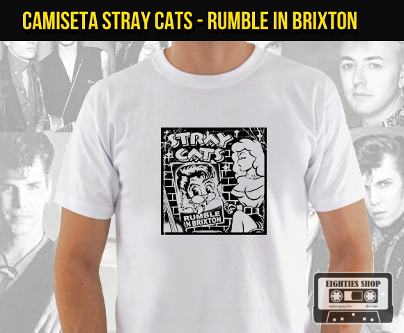 Camiseta de banda de rock - Stray Cats
