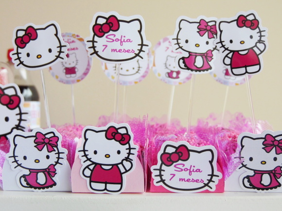 Kit Forminha Topper Hello Kitty