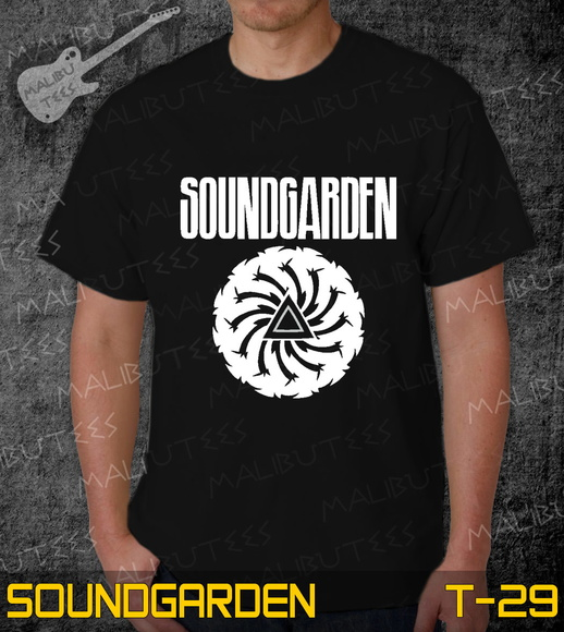 Camiseta Soundgarden Rock Roll