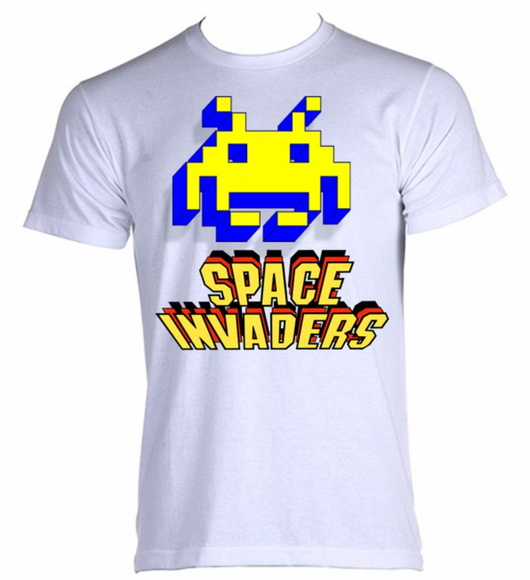 Camiseta Space Invaders 06