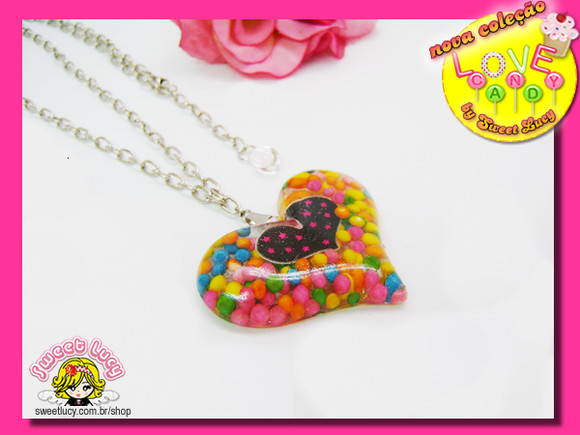 Colar Love Candy **ESGOTADO