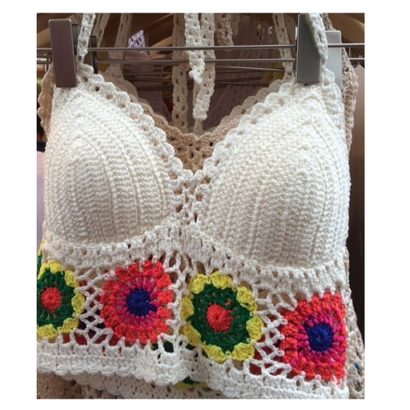 Top de croche Vanessa Hudgens