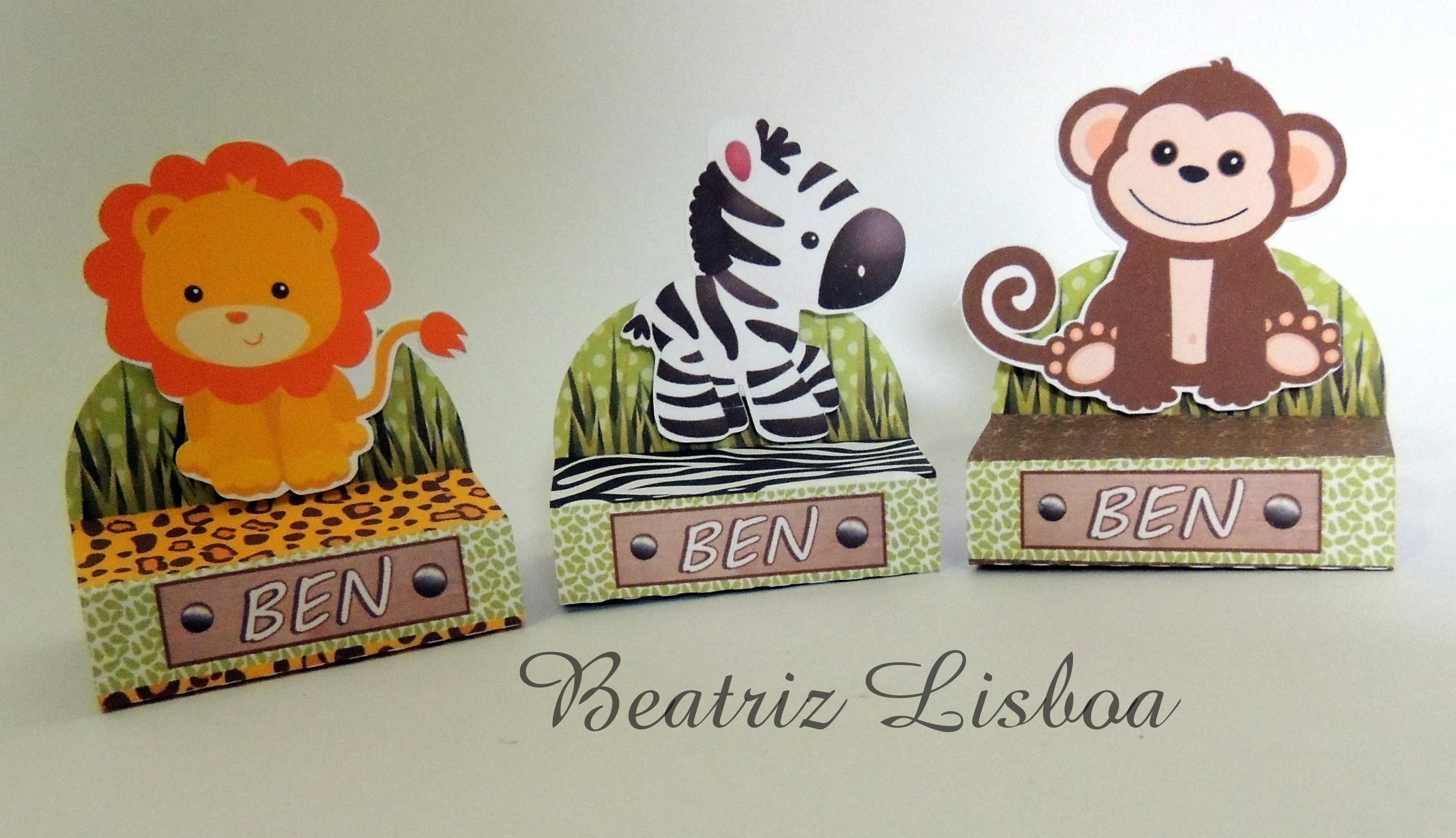 Safari Porta Chocolate Duplo No Elo7 Beatriz Lisboa 65cf32
