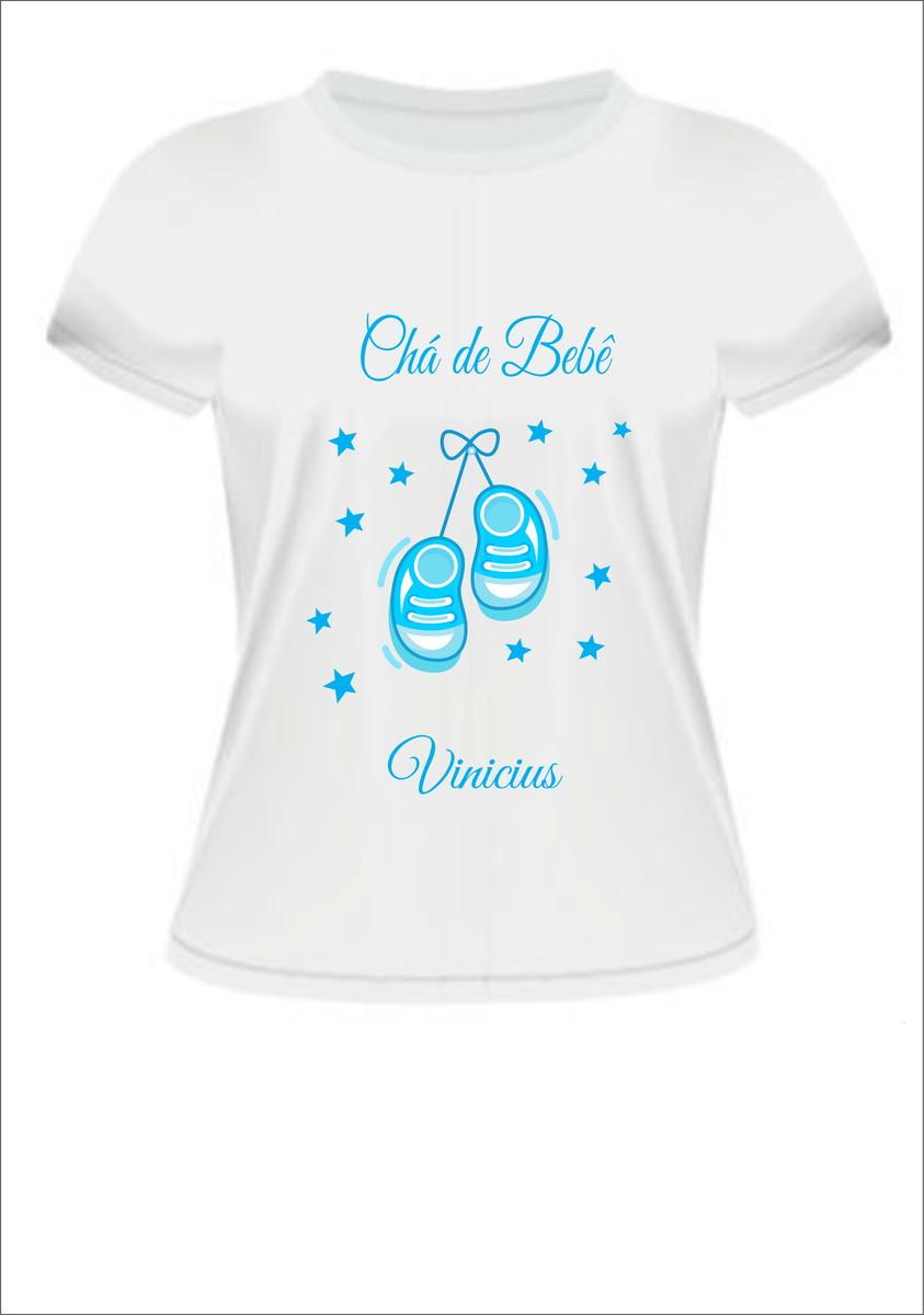 Camisetas Cha De Bebe Elo7