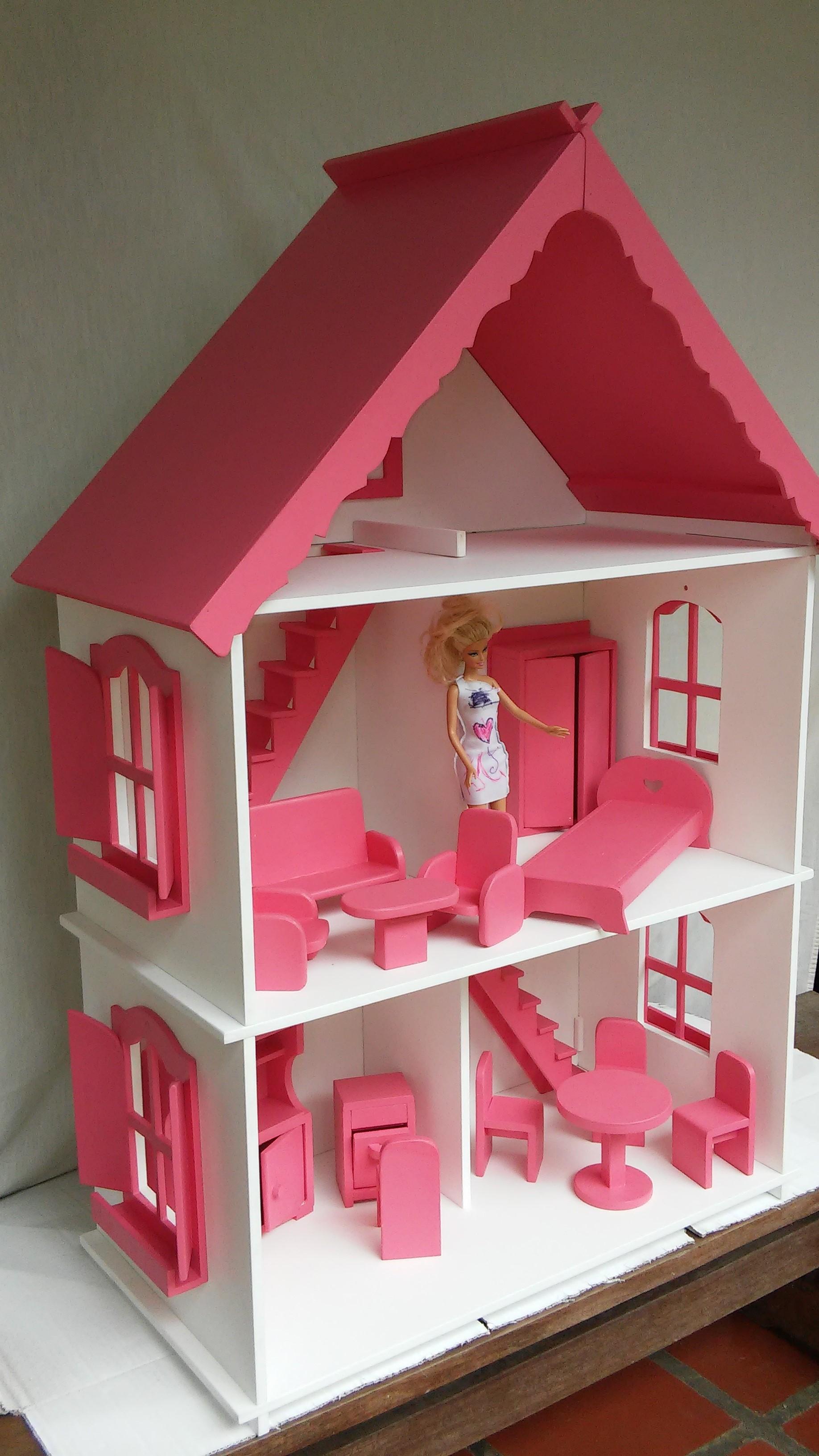 de boneca para barbie casa para barbie casa de boneca para barbie #9D2E3E 1836x3264 Banheiro Da Barbie Para Comprar