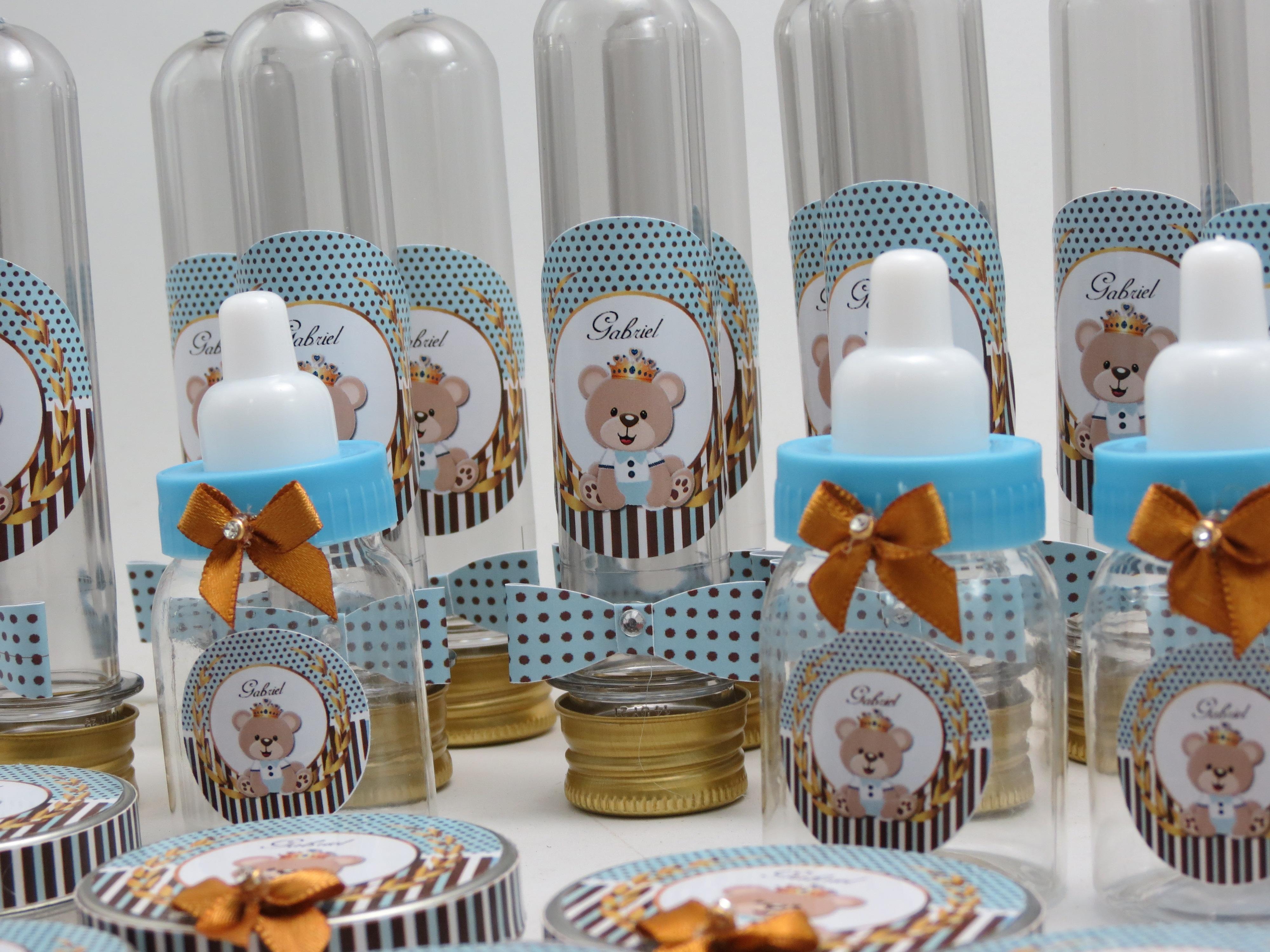 Excepcional Kit para chá de bebê Urso Príncipe no Elo7 | Maria Lara  PE59