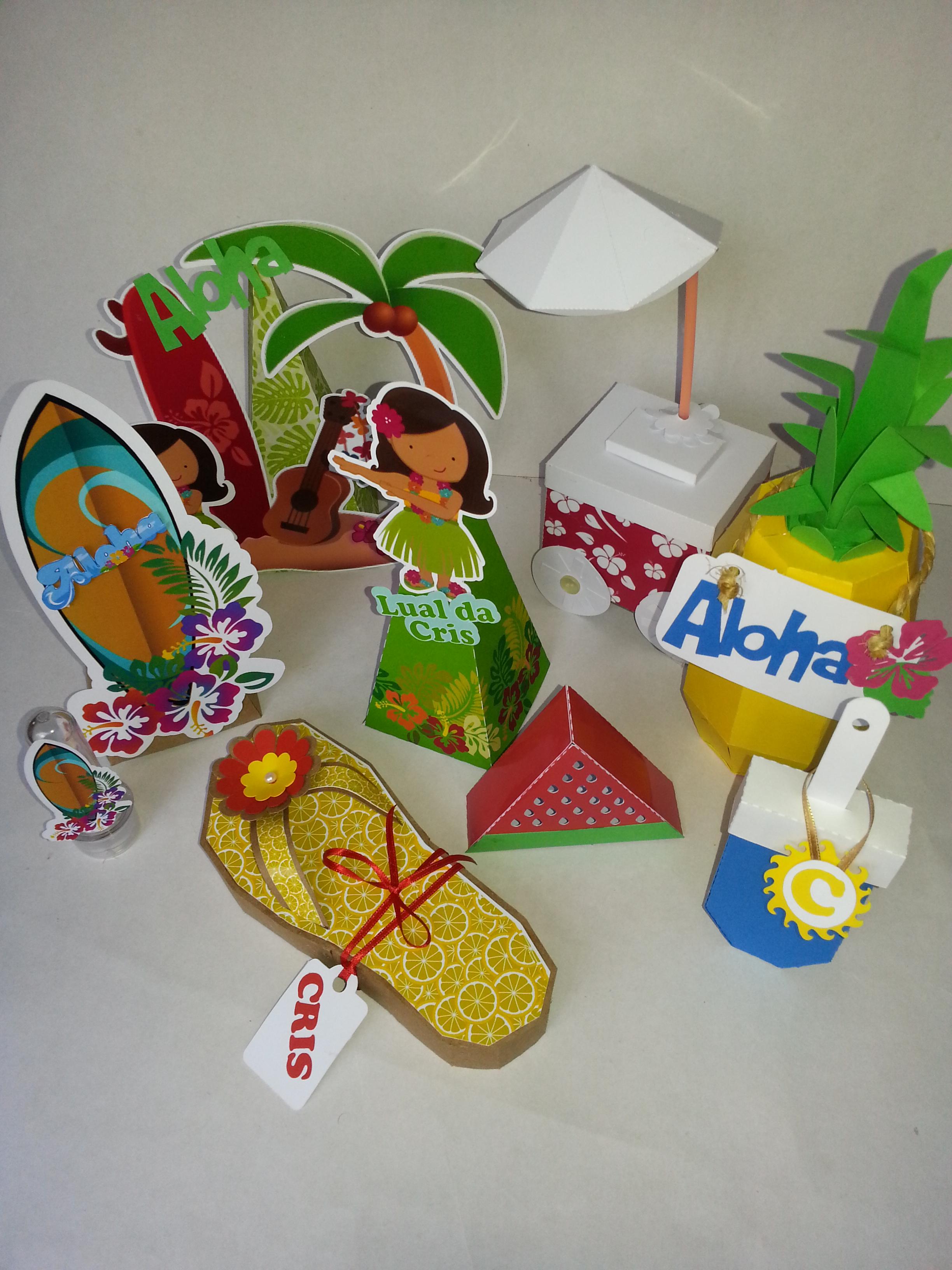 Piramide Havaiana No Elo7 Arte E Recorte Papel Criativo 66453f