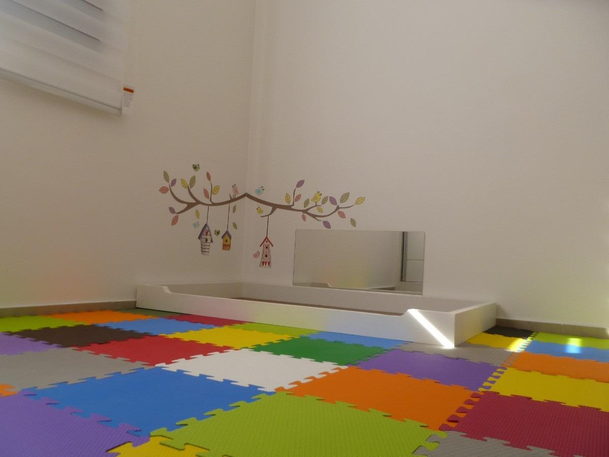 Espelho Quarto do Bebê Montessoriano Visual Laser Elo7 ~ Quarto Montessori Moveis