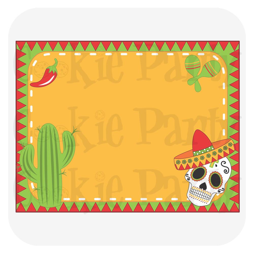 Convite Festa Mexicana Infantil  2621094061c