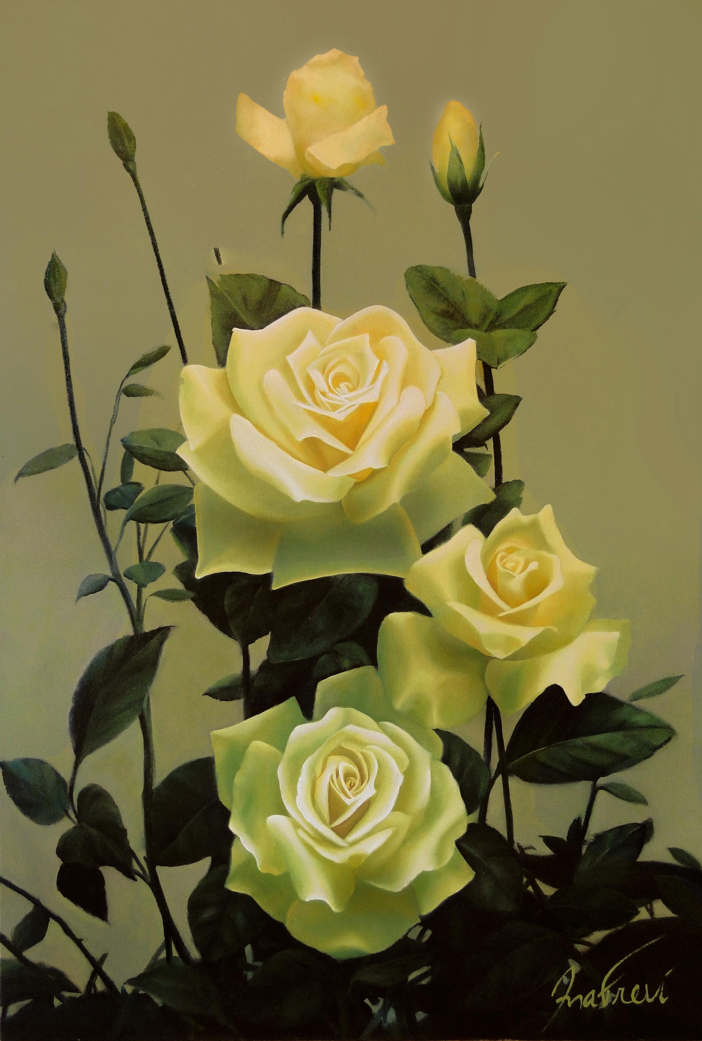 e6d23179c Carteira Floral Rosa Amarelo   Elo7