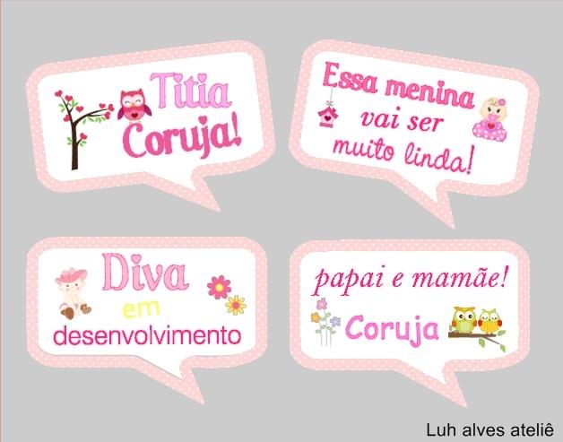 Plaquinhas Divertidas Para Cha De Bebe No Elo7 Luh Alves Atelie