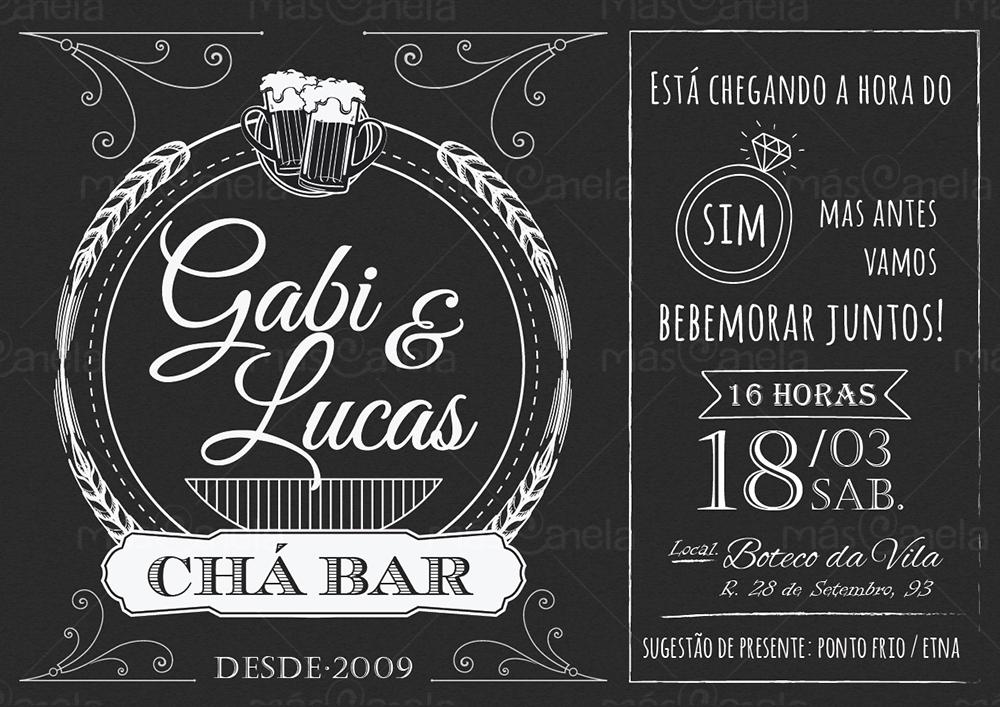 Ch De Cozinha Panela To Download Convite