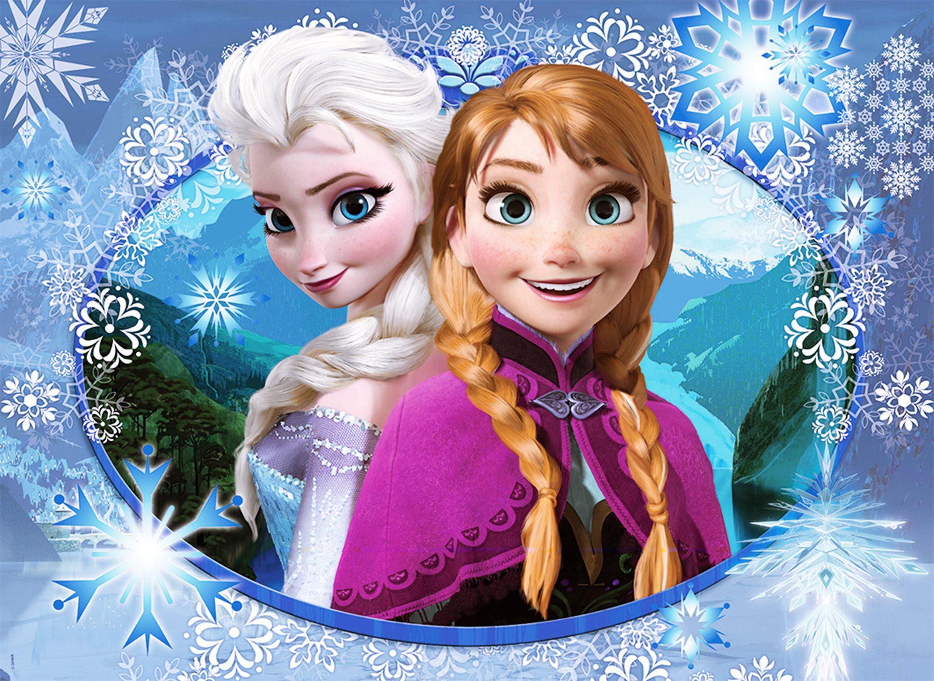 Painel infantil frozen elsa e anna 2x1 no elo7 festa oferta 675431 stopboris Images