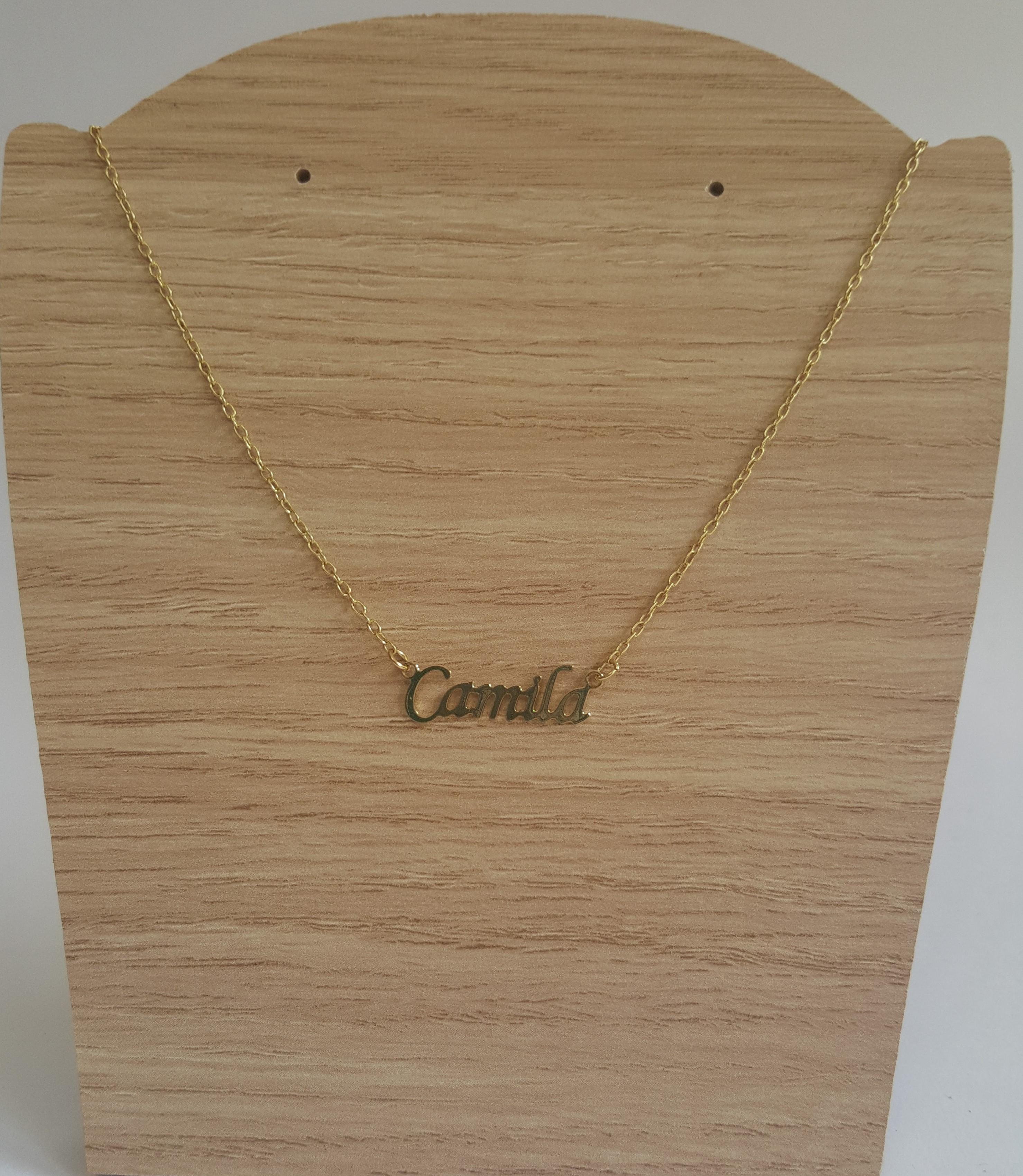 Gargantilha Camila Folheada Ouro! no Elo7   CS Acessórios (67AB86) 49fb3e4cb5