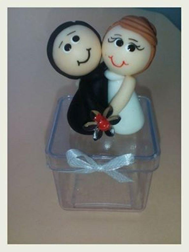 Lembrancinha Casamento em Biscuit no Elo7 | Ateliê Arte de Criar By Ana  (680F79)